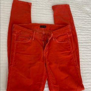 MOTHER corduroy pants